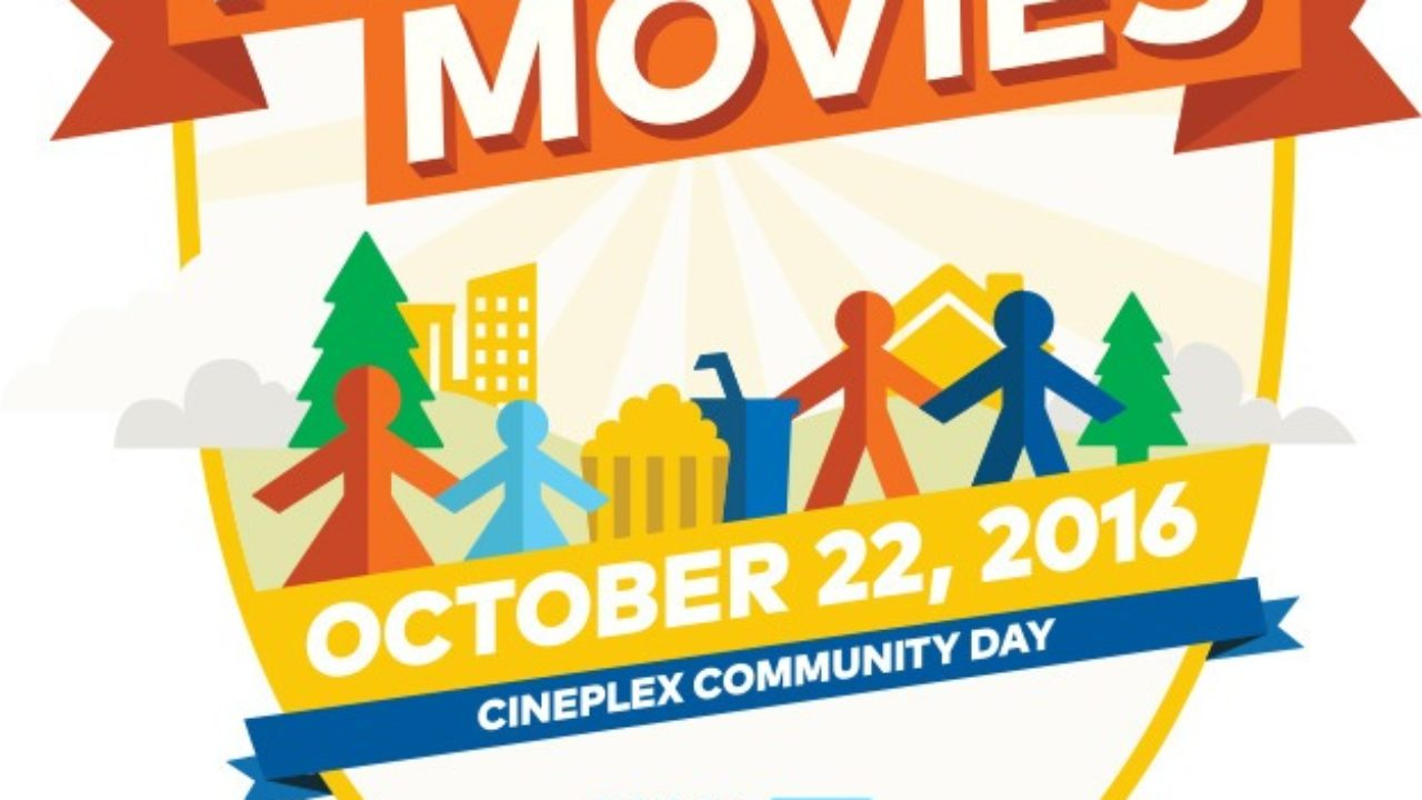 Cineplex Community Day Features Free Movies At Langley Theatre