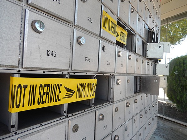 Residents in many neighbourhoods have opposed the switch to community mailboxes because they are often targeted by thieves.