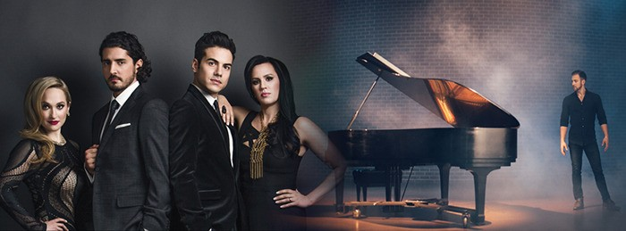 Vivace, a pop-opera ensemble featuring Langley's Tiffany Desrosiers, left, will perform at Maple Ridge Alliance Church on May 31. Other members of Vivace include Marc Devigne, Michael Ciufo and Melody Courage. Desrosiers is also in the process of promoting her six-song EP Fearless.