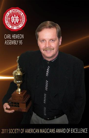 Langley magician pulls off award victory