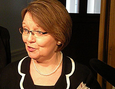 Public Safety Minister Shirley Bond