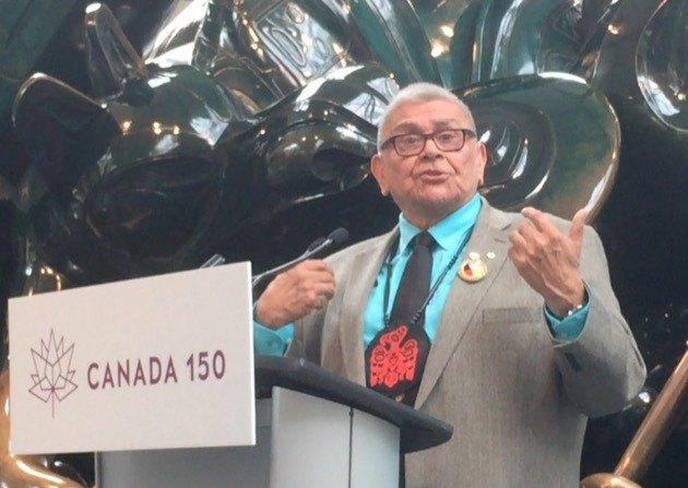 Dr. Robert James, hereditary chief of Gwawaenuk First Nation.