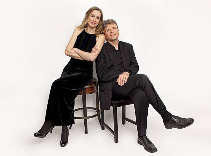 Duo Concertante violinist, Nancy Dahn, and pianist, Timothy Steeves, will open the Rose Gellert Hall music season this Sunday, performing works by Bach, Debussy and Beethoven. To learn more, visit duoconcertante.com.