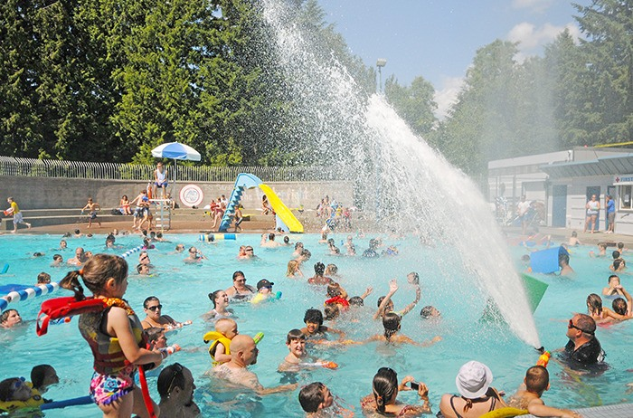 The annual Legendary Water Fight at Al Anderson Memorial Pool is always a big hit with residents. Last year's event was scaled back to keep in line with Metro Vancouver water restrictions, but staff is hopeful the fight will be able to reclaim its legendary status when it returns on July 16.