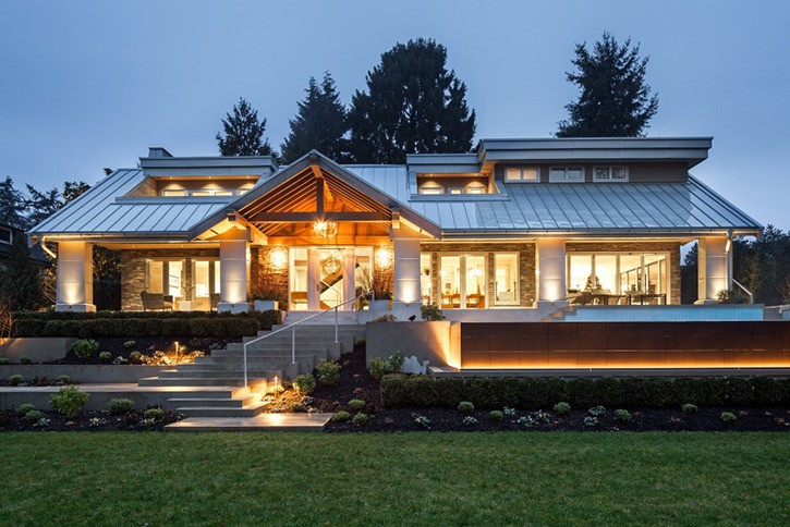Langley's Teragon Developments & Construction Inc. won an Ovation Award in the category of best exterior renovation for the work on 'The Woodward.'