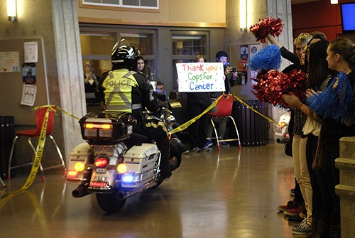 Cops for Cancer cruised into Abbotsford for the final leg of the Tour de Valley.