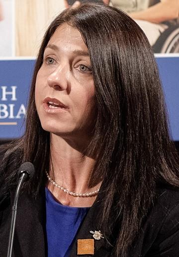 Social Development Minister Michelle Stilwell