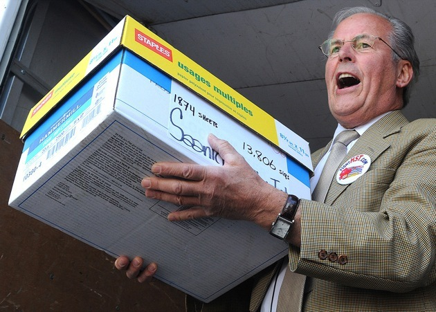 Pipeline protesters may tear a page from the playbook of Fight HST leader Bill Vander Zalm, whose initiative petition forced a successful referendum in 2011 to repeal the harmonized sales tax.