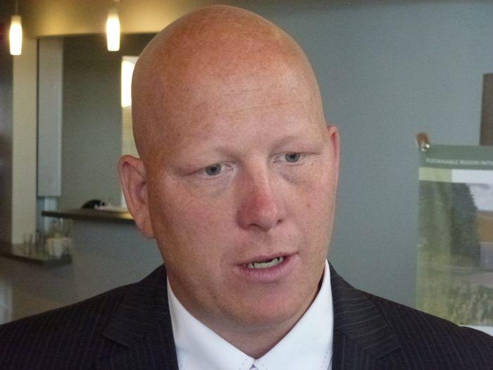 Metro Vancouver regional district board chair Greg Moore.