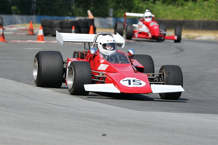 Langley's Collin Jackson will be racing his beautifully restored 1973 Brabham BT40 at the 28th annual B.C. Historic Motor Races August 22-23, 2015 at the Mission Raceway Road Course.