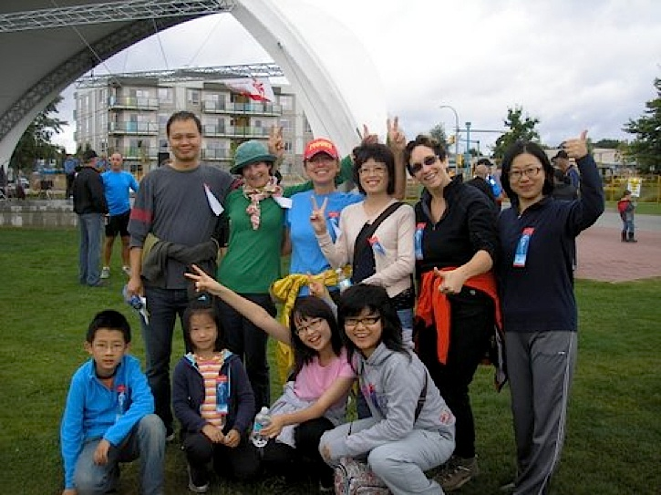 Newcomers raise money for cancer research