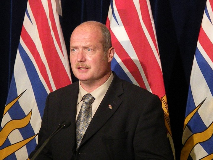 B.C. Finance Minister Mike de Jong.
