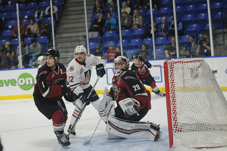 Vancouver Giants' Ryan Kubic was named the Canadian Hockey League's goaltender of the week for the week ending Oct. 16. Kubic was in goal for all four games as the Giants went a perfect 4-0 with wins over Calgary, Edmonton, Lethbridge and Medicine Hat.