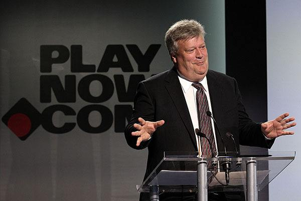 Cabinet minister Rich Coleman announces launch of B.C. Lottery Corporation's online gambling site in July 2010.