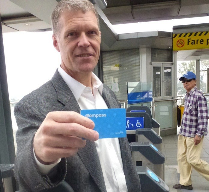 Mike Madill, TransLink's vice-president of enterprise initiatives, says 10,000 volunteers who helped beta test the new Compass card provided valuable assistance that will be used to refine the rollout.