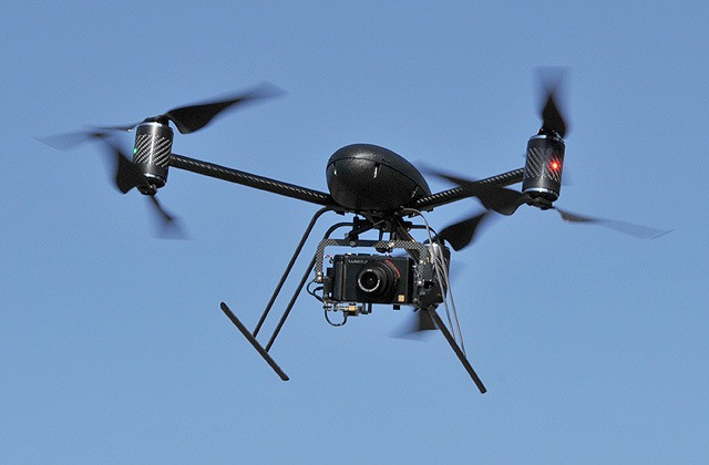 Police test drone to take over some helicopter work