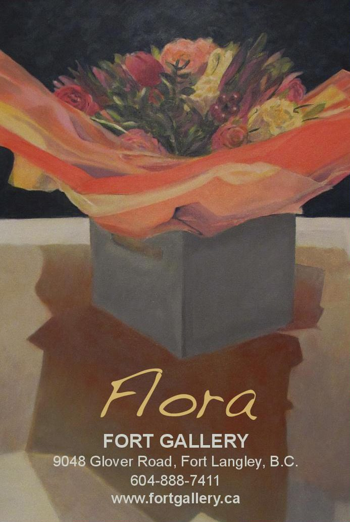 Flora runs at the Fort Gallery Feb. 22 to March 12.