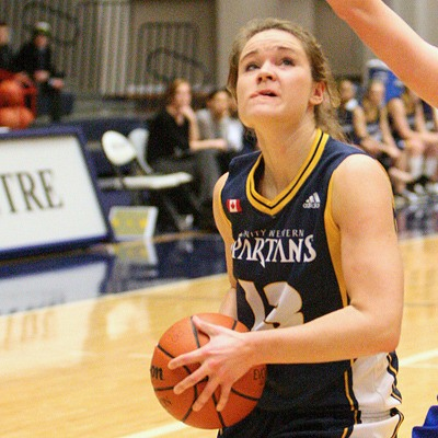 Trinity Western post player Corina Reimer had a solid final weekend. The senior, playing her last two home games of her Spartans career, had 14 points, 11 rebounds and two blocked shots in Saturday's 74-37 win over the Brandon Bobcats. Reimer leaves the program as the all-time leader in blocked shots.