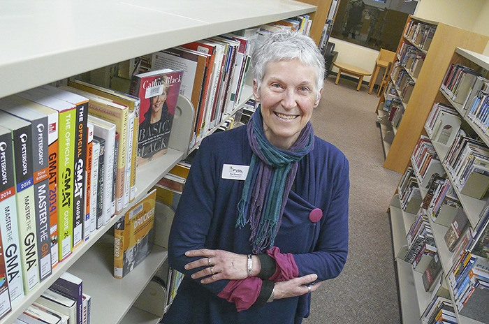 After 17 years, Pat Dawson will retire as the Langley City library manager in March. She plans to work as a literacy volunteer.
