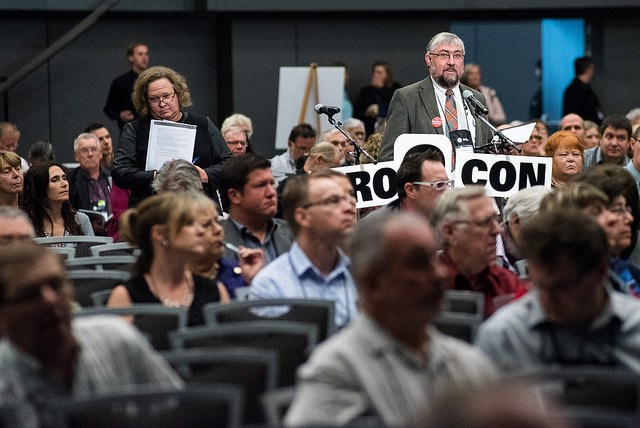 Municipal politicians at the Union of B.C. Municipalities convention debate how to erase rape culture in society.