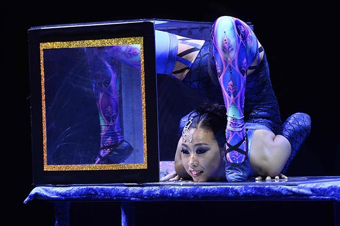 Big Apple Circus is bringing its act to the big screen. The New York-based circus will show at Colossus Cinema on Saturday morning at 9:30 a.m.