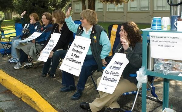 B.C.'s public school teachers last struck in 2005.