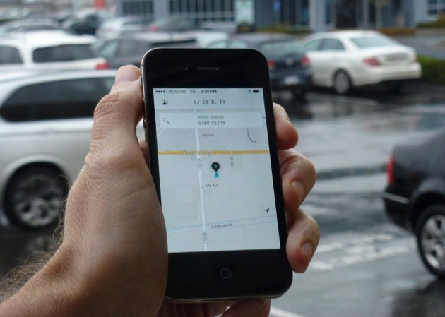 Uber's smartphone app won't let you hail a car in B.C. yet, but Edmonton has moved to legalize the service.
