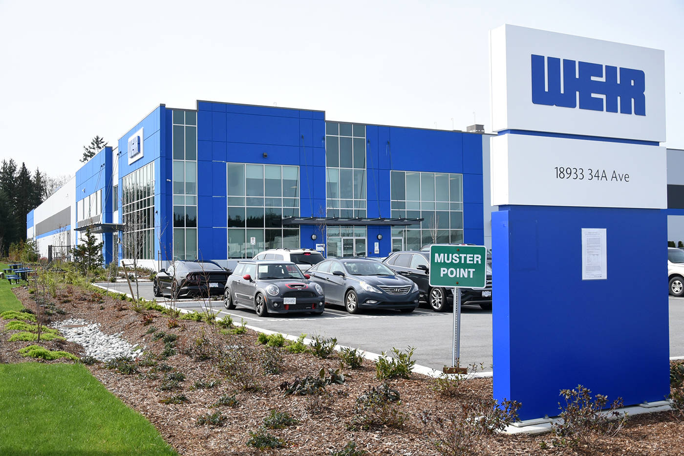 The Weir facility is located at 18933 34A Ave. in South Surrey's Campbell Heights business park. Miranda Gathercole Langley Times