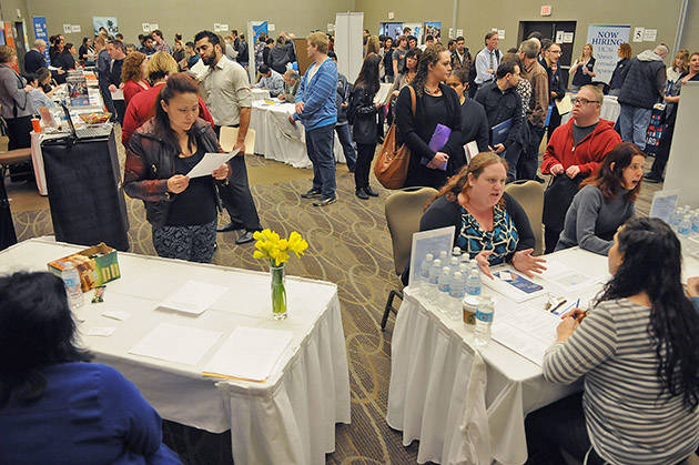 GT Hiring Solutions says being prepared for a career fair can make or break your chance at impressing a potential employer. (Jenna Hauck/Progress file)
