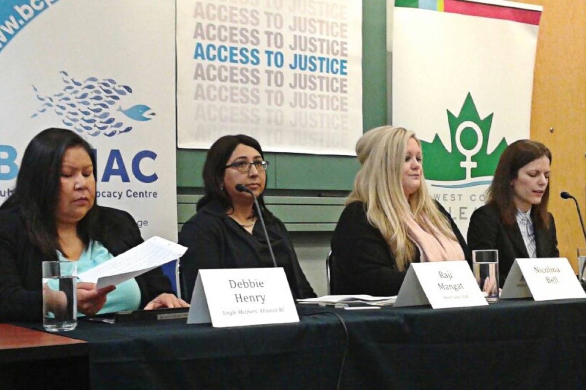 Two women take on province over domestic abuse legal aid
