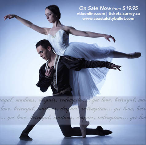 Coastal City Ballet brings love, betrayal to the stage with 'Giselle'