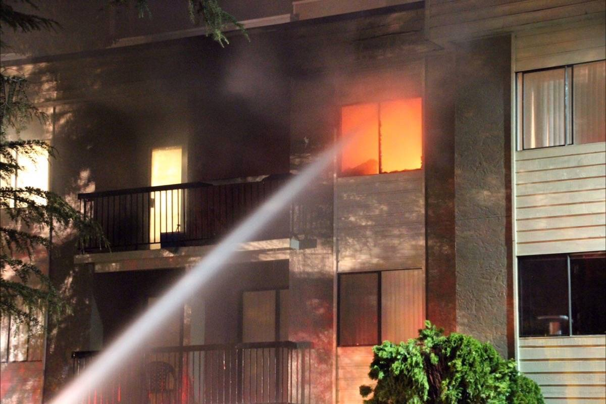 An online GoFundme page has been set up to assist victims of Lions residence fire.                                File photo