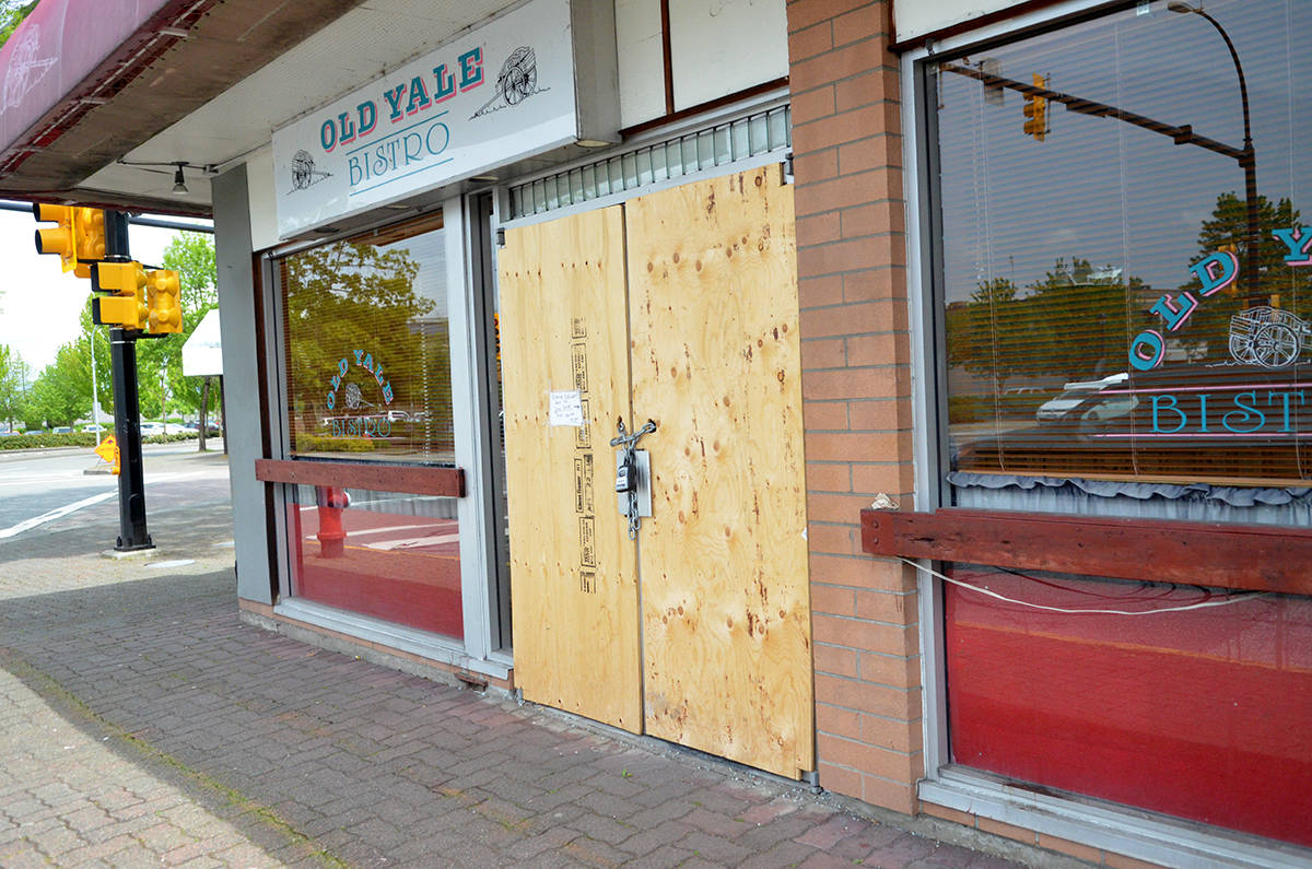 Langley City restaurant's doors are closed for good