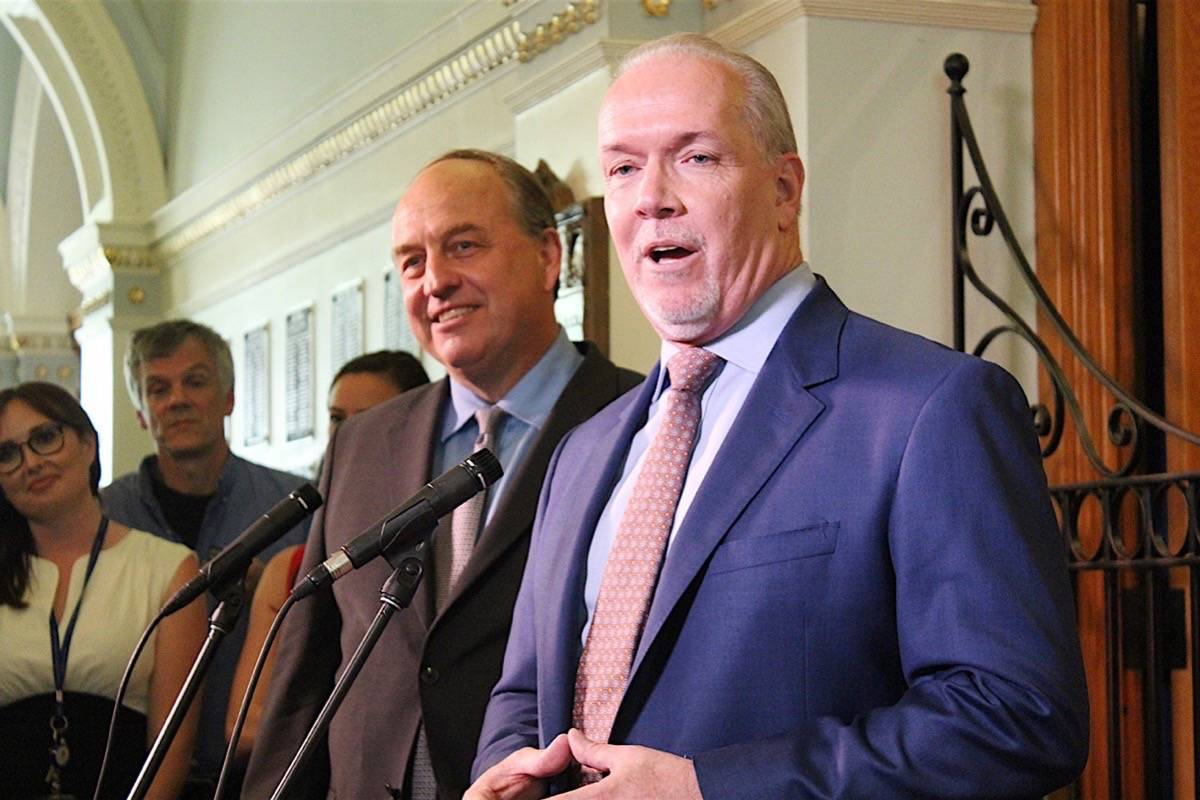 Inside the NDP-Green governing agreement