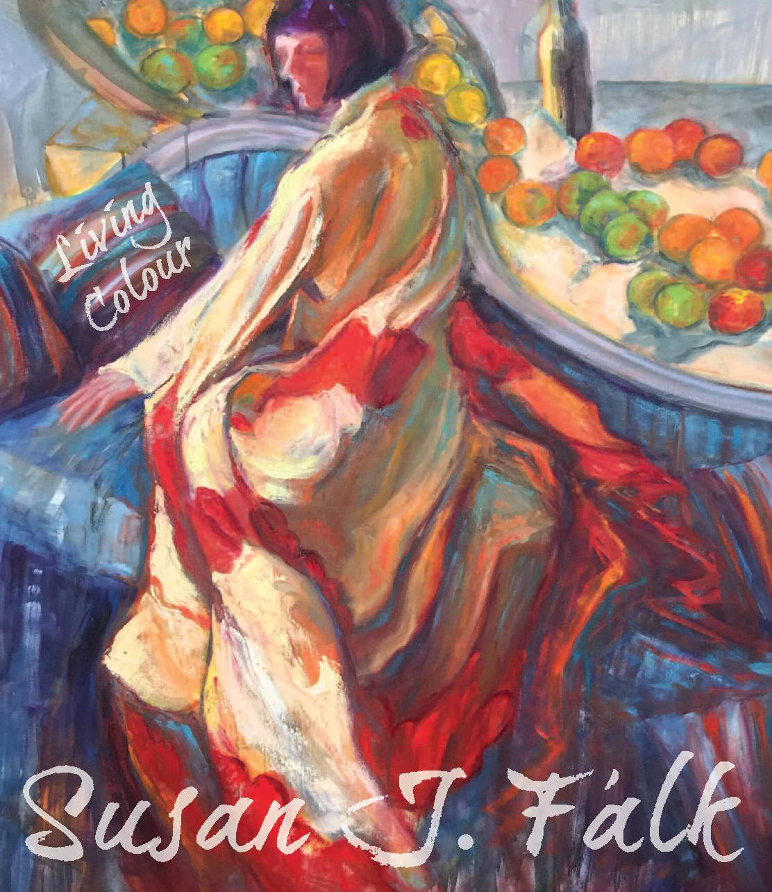 Living Colour, an exhibition by Langley artist Susan J Falk takes place at the Fort Gallery May 17 to June 4. Submitted image