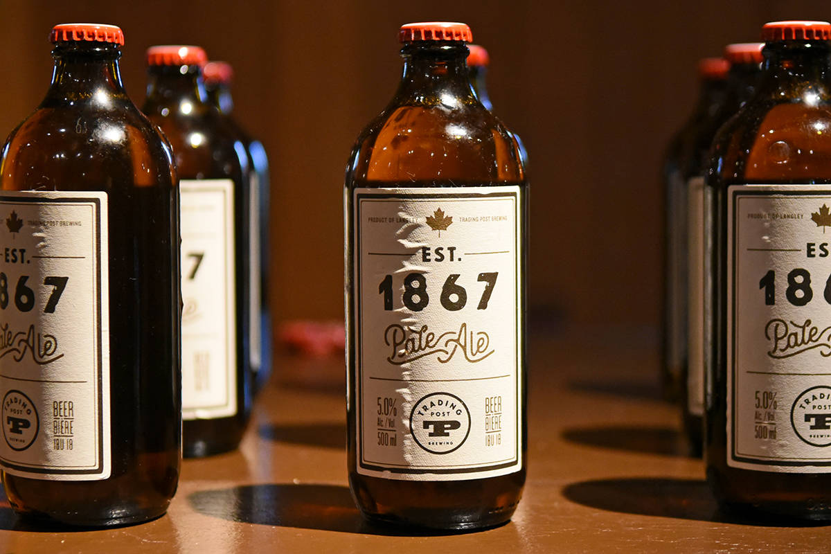Fort Langley's Trading Post Brewing has launched a new Canada 150 beer in partnership with the Fort Langley National Historic Site. Miranda Gathercole Langley Times