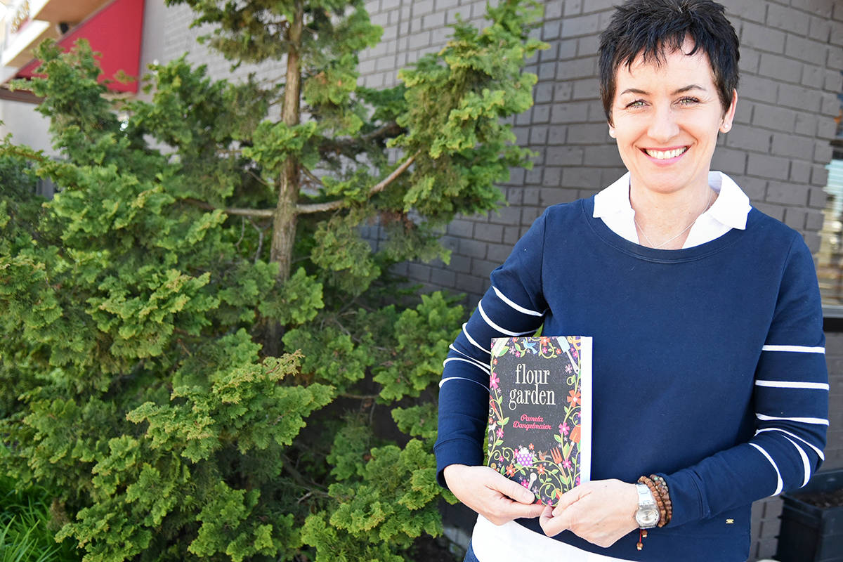 Garden club experience inspires Langley business owner to pen first novel
