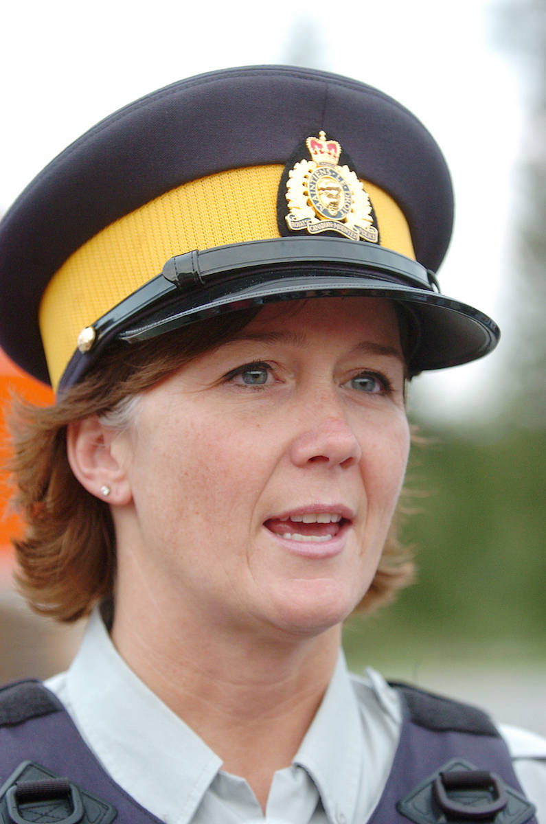 Langley RCMP  Cpl. Holly Largy