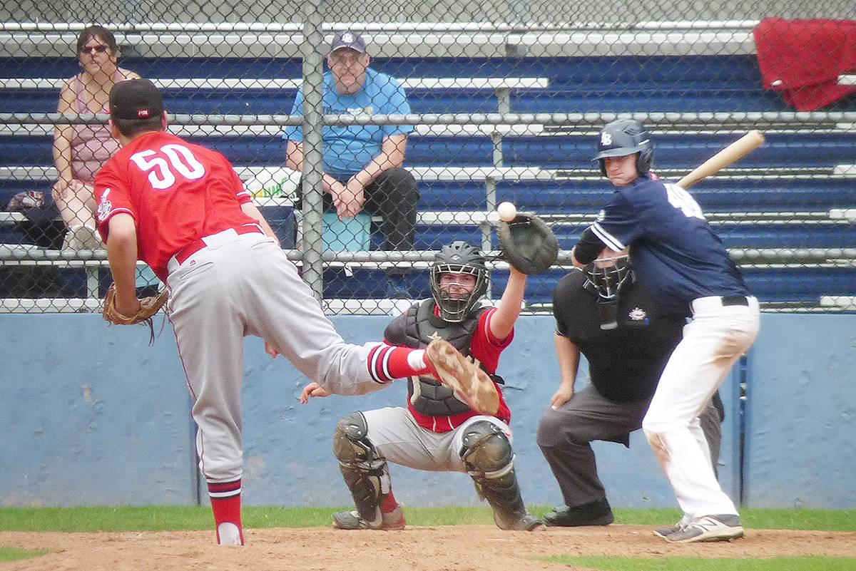 Big innings help Langley top Redlegs