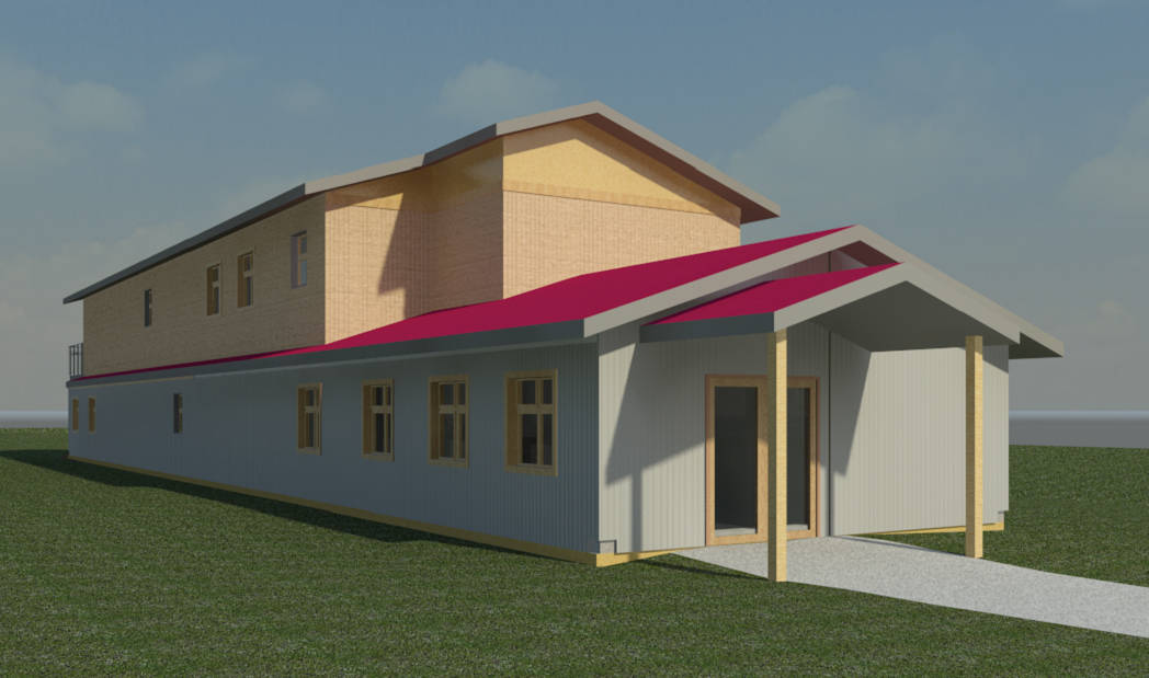 Artist rendering of the new Langley Youth Resource Centre.                                Submitted image.