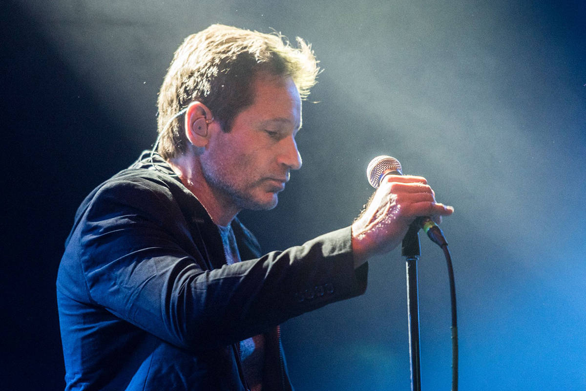 'X-Files' actor David Duchovny to perform concert at Vancouver venue
