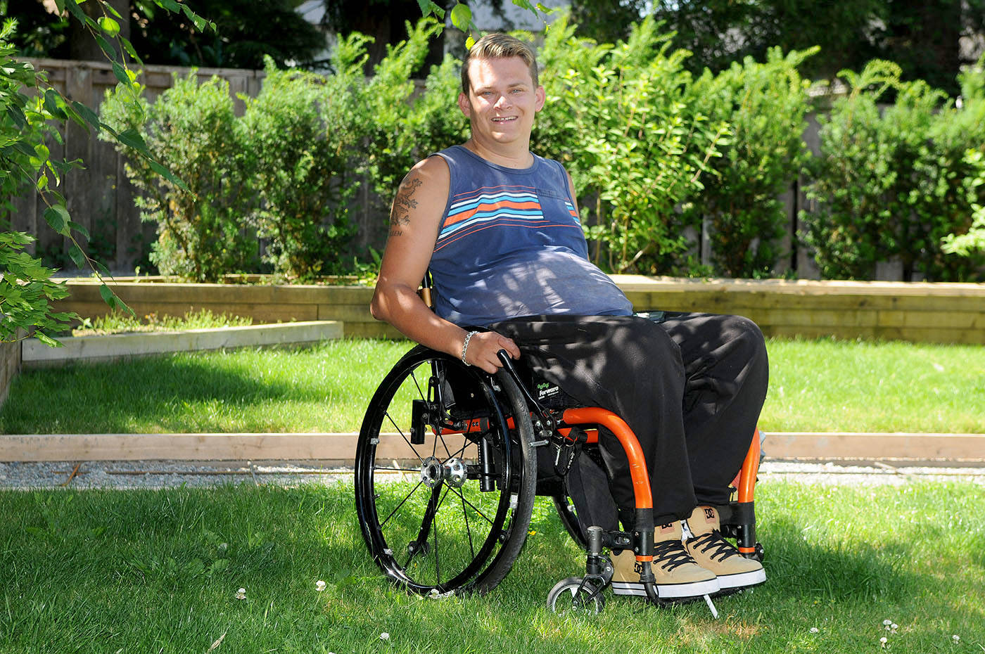 Wheelchair-bound Langley man raising funds for stem cell therapy in Central America