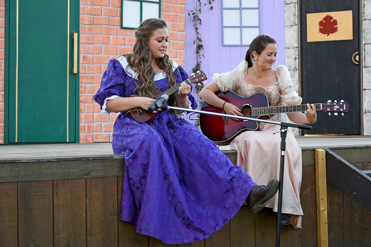 Much Ado About Nothing, performed at Township 7 Winery. Miranda Gathercole Langley Times