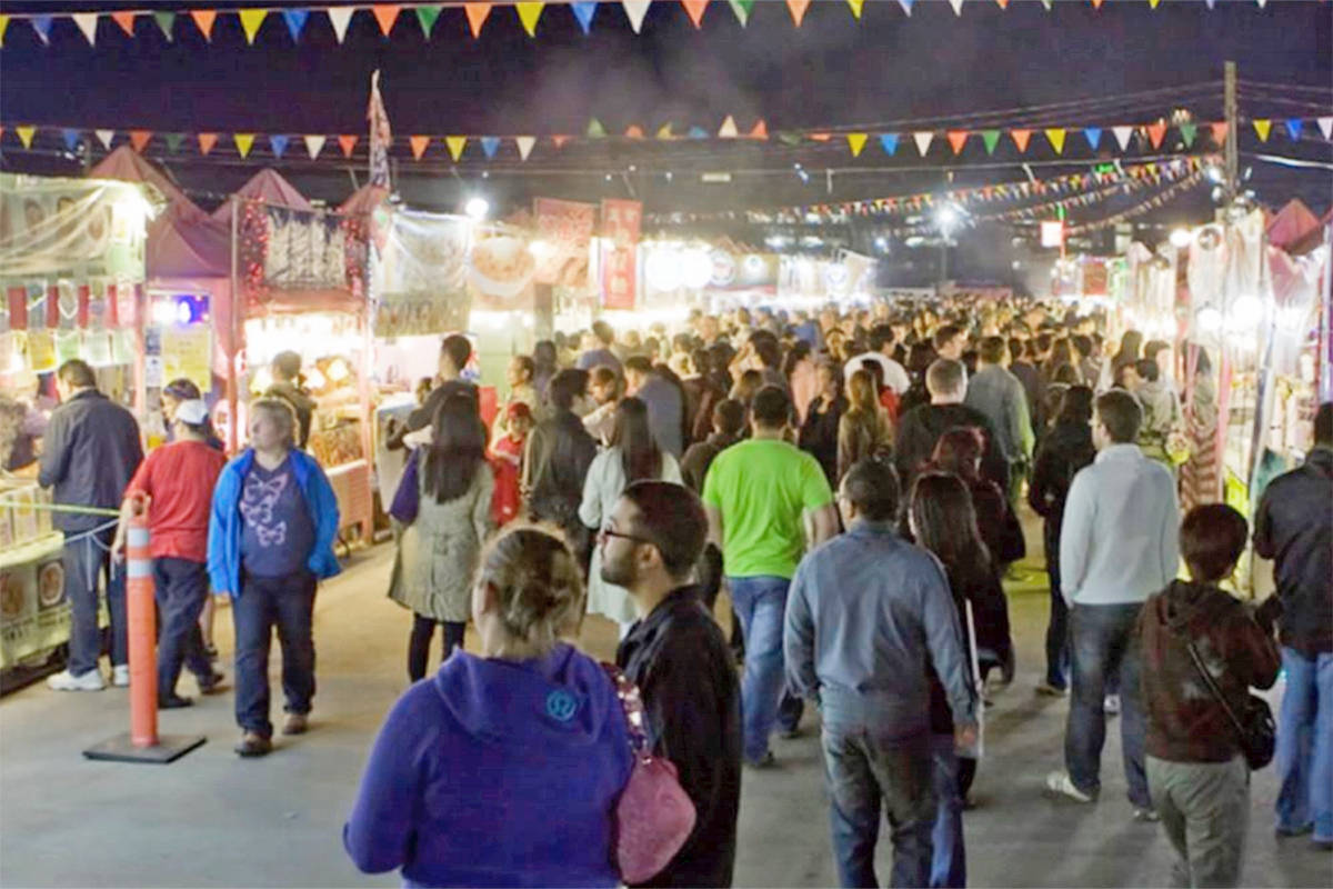 A night market is among the options the City is exploring to help revitalize its downtown core.                                Supplied image
