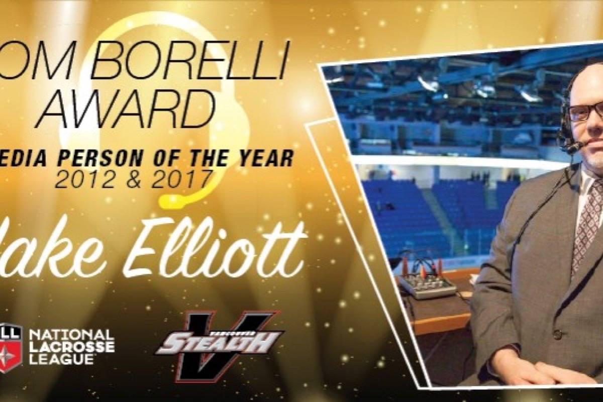 Stealth's Elliott wins Borelli Award
