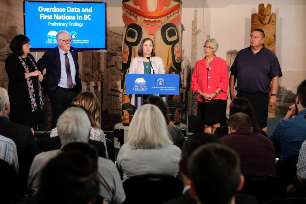 Preliminary data released today point to emerging trends that First Nations peoples are over-represented in the opioid crisis (B.C. government)