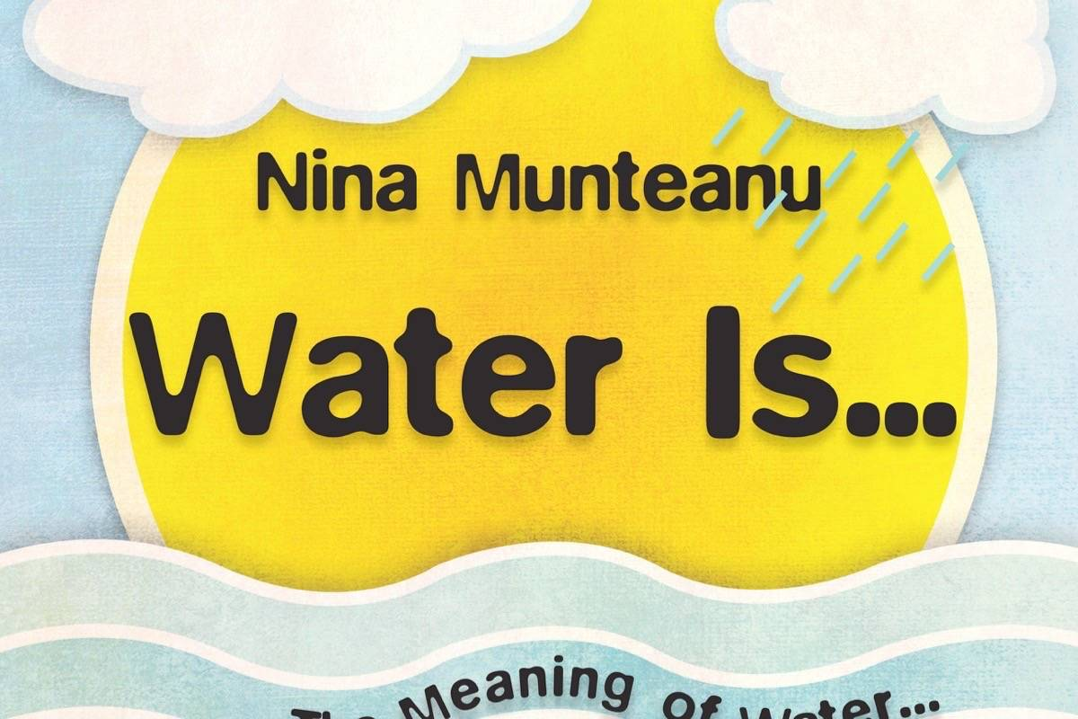 """Nina Munteanu's book """"Water Is…"""", which was picked by Margaret Atwood for the NY Times 2016 """"The Year in Reading."""""""