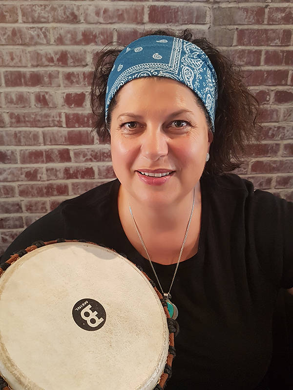 Drummer Michelle Duckett will be performing at the Fort Gallery on Sept. 7. Submitted photo.
