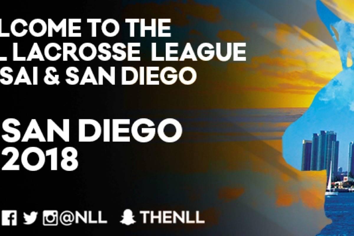 San Diego newest NLL squad