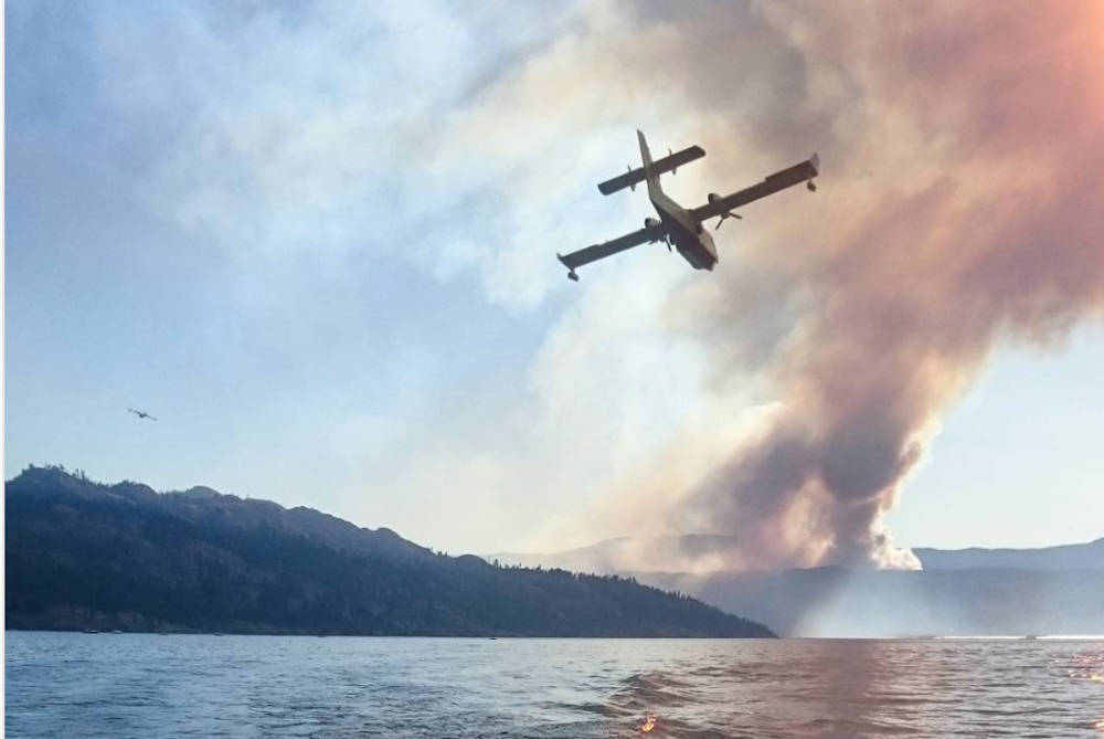 UPDATE: Peachland fire holds despite challenging winds